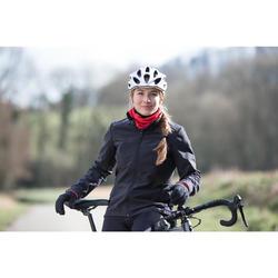 Veste vélo route cyclotourisme femme 100 noire