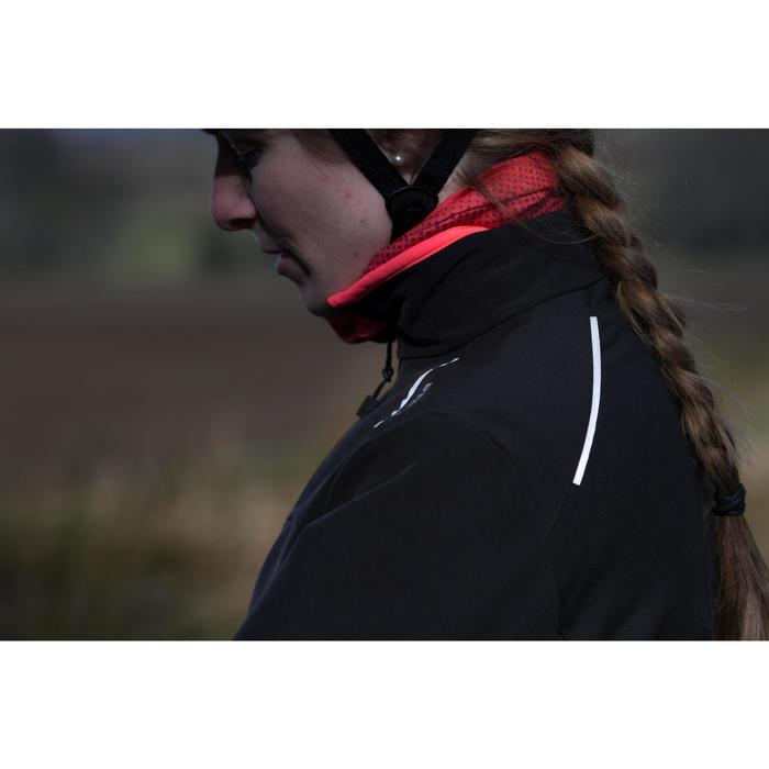 Fietsjack wielertoerisme dames 100 zwart
