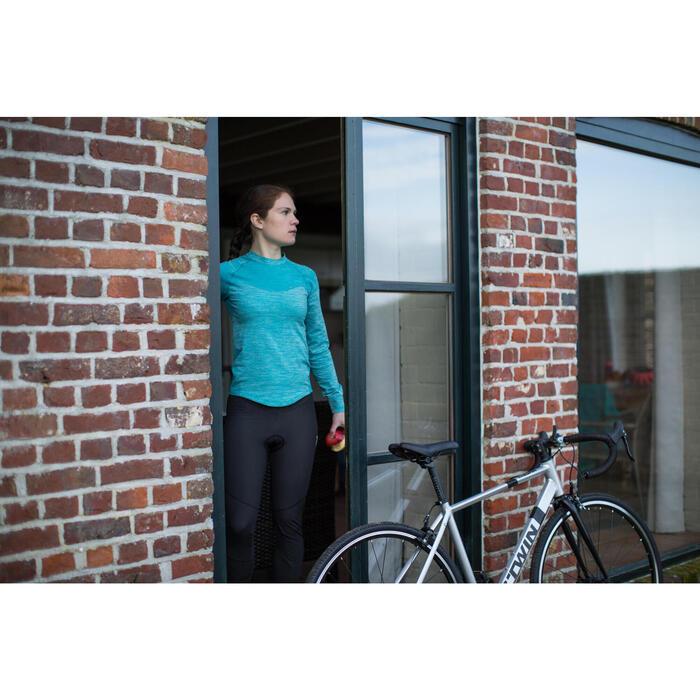 Sous-vêtement manches longues vélo femme 500 - 1214637
