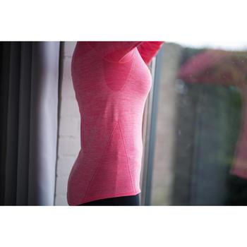 Fietsondershirt lange mouwen dames 500 - 1214649