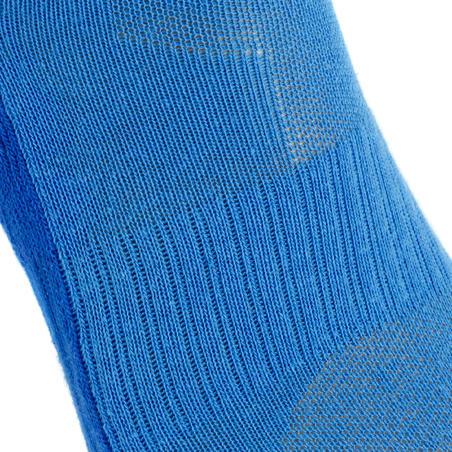Kids' Mid-height Hiking Socks MH100 2-pack Blue/Grey