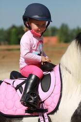 Zadeldek Love ruitersport roze - Shetlandpony - 121471