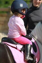 Zadeldek Love ruitersport roze - Shetlandpony - 121472