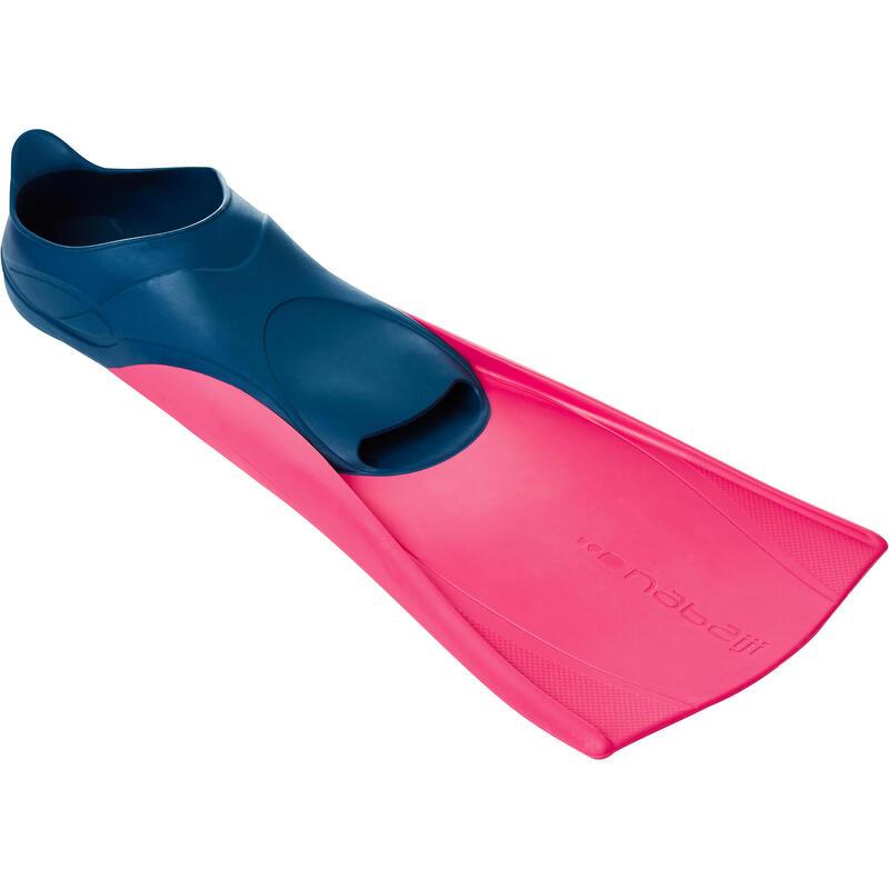 Lange zwemvliezen Trainfins roze