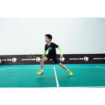 Badmintonschuhe BS800 Kinder gelb/blau