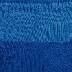 Wandersocken Arpenaz MH100 Mid Kinder 2Paar blau/grau
