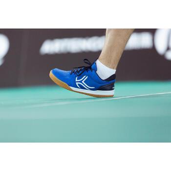 Chaussures de BADMINTON Artengo BS730 Man Bleu Blanc - 1214950