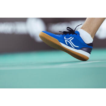 Chaussures de BADMINTON Artengo BS730 Man Bleu Blanc - 1214976