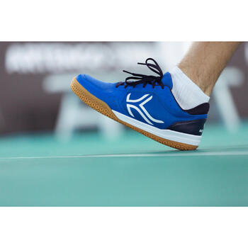 Chaussures de BADMINTON Artengo BS730 Man Bleu Blanc - 1214977