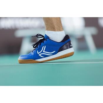 Chaussures de BADMINTON Artengo BS730 Man Bleu Blanc - 1214981