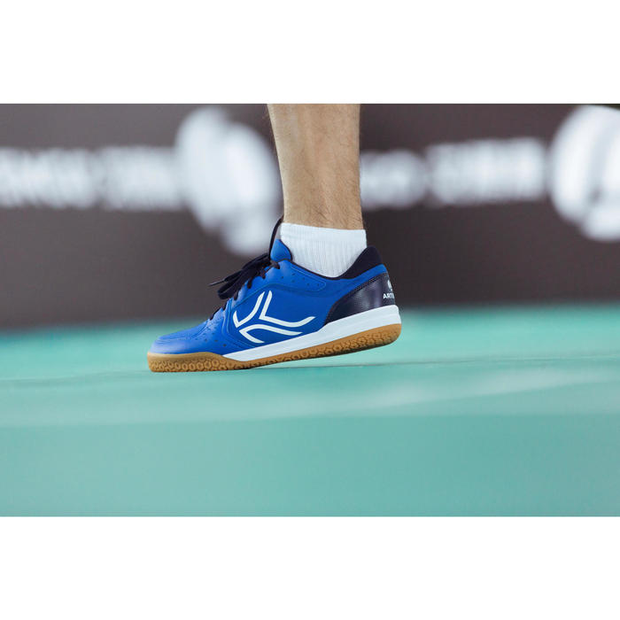 Chaussures de BADMINTON Artengo BS730 Man Bleu Blanc - 1214991