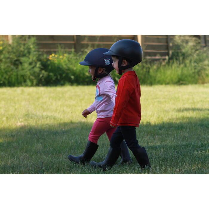 Bottes équitation enfant SCHOOLING BABY noir - 121515
