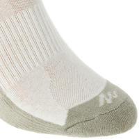 NH100 Country Walking Socks High X 2 Pairs - Beige