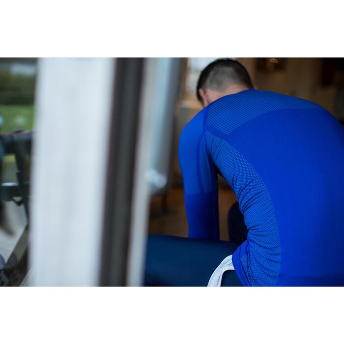 Fietsondershirt met lange mouwen voor heren 500 blauw