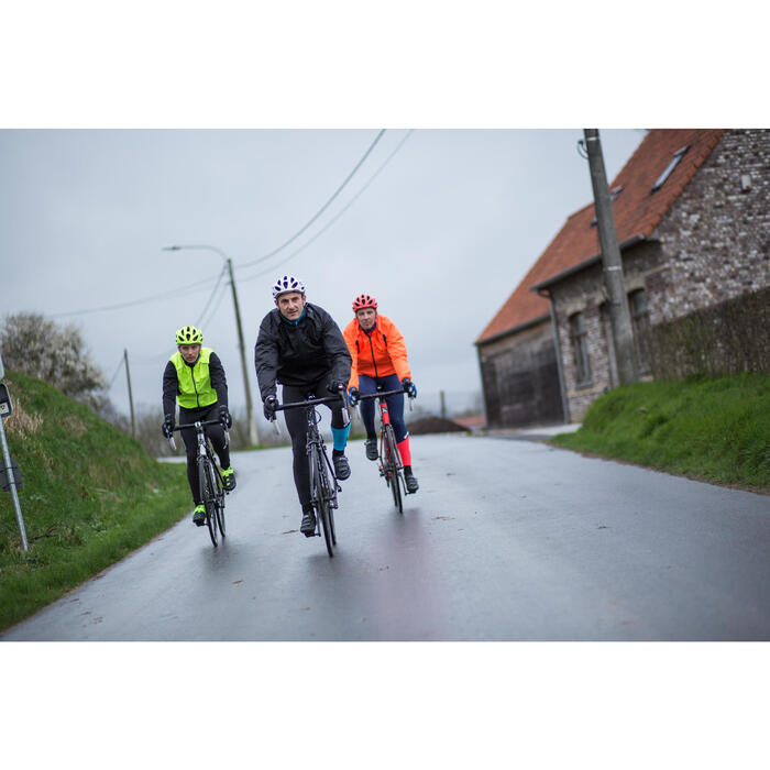 COUPE PLUIE VELO HOMME 500 FLUO SOFTLIME - 1215517