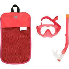 kit mask snorkel snk 520 jr pink