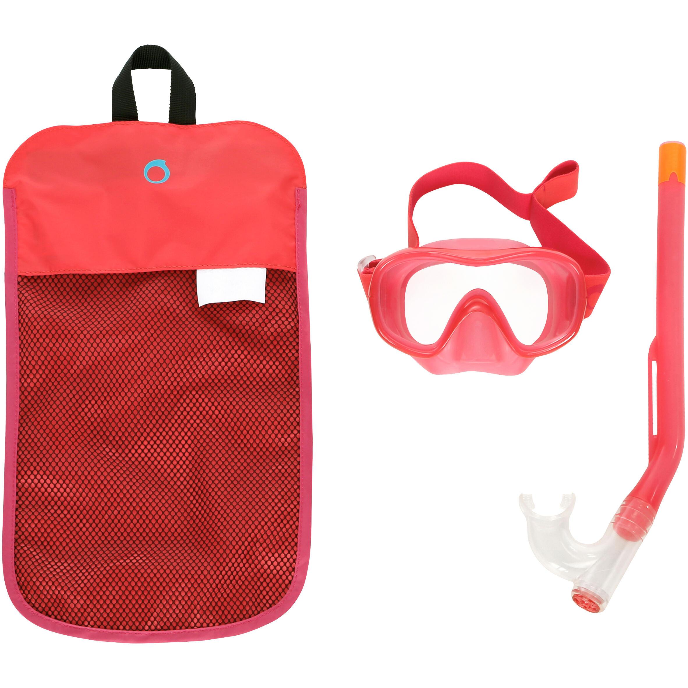 Subea Set duikbril en snorkel 520 voor kinderen