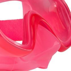 Schnorchel-Set 520 Kinder rosa