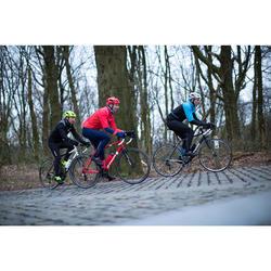 Fahrradhelm Rennrad 500 rot