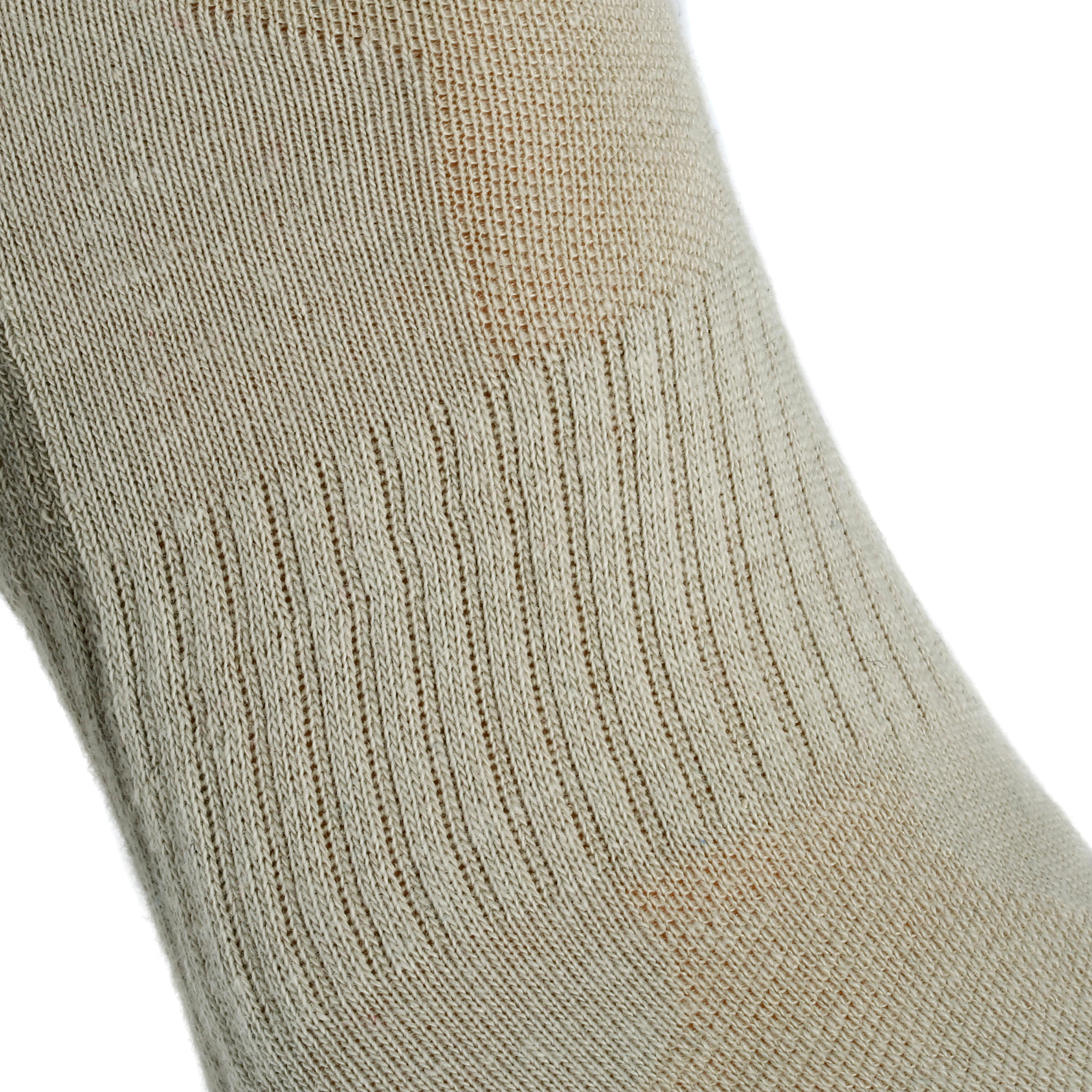 NH100 Mid country walking socks - beige x 2 pairs