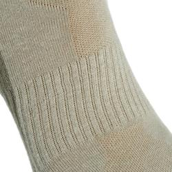 Country walking Mid socks X 2 pairs NH 100 - beige
