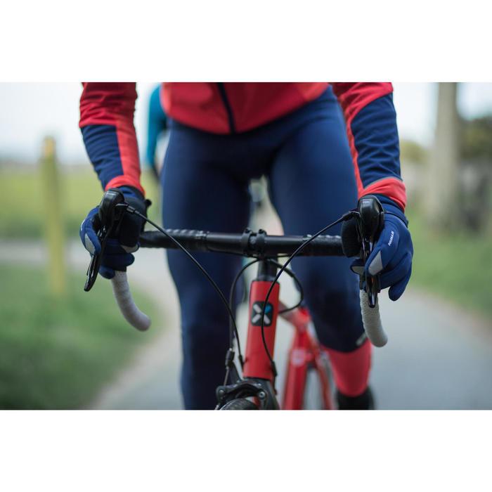 Fahrrad-Winterhandschuhe 500 rot