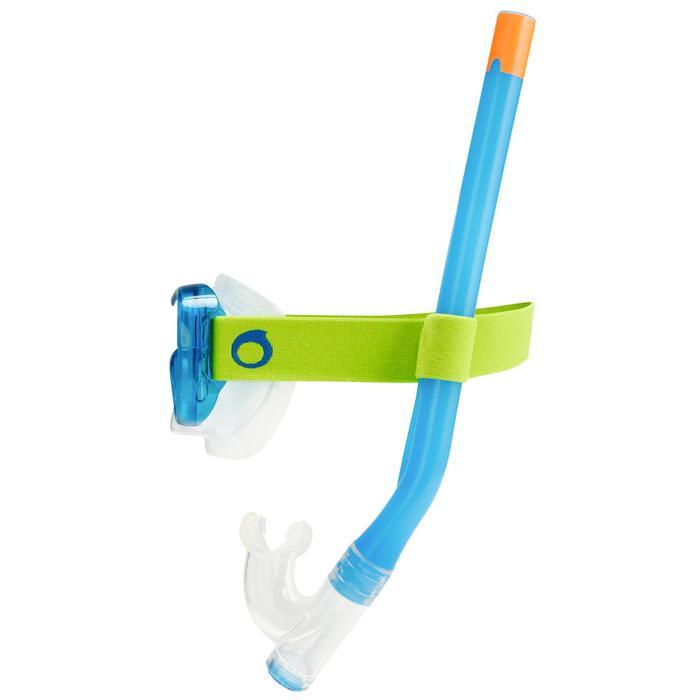Set duikbril en snorkel SNK 520 voor kinderen - 1215690