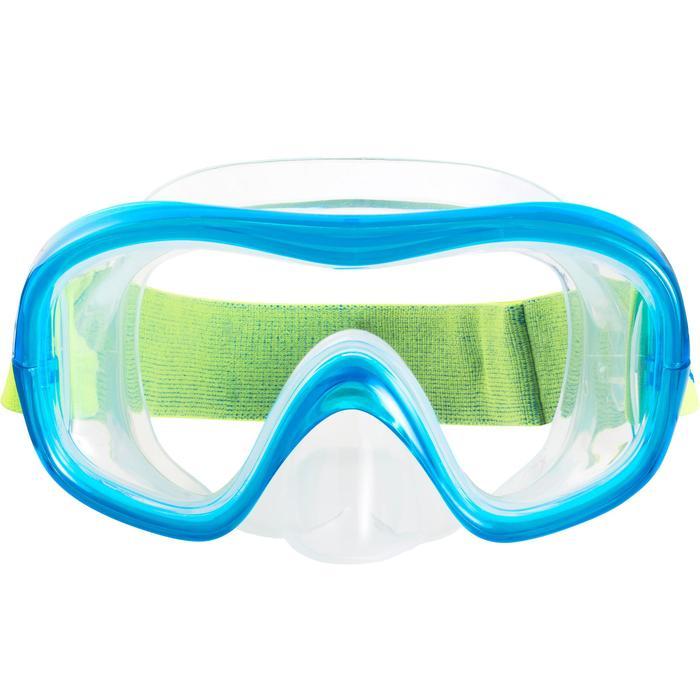 Set duikbril en snorkel SNK 520 voor kinderen - 1215692