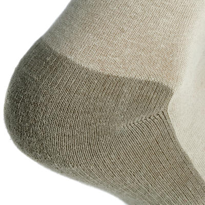 NH100 Mid country walking socks - beige x 2 pairs