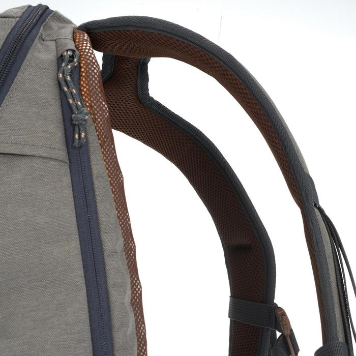Mochila de senderismo en la naturaleza NH500 20L gris