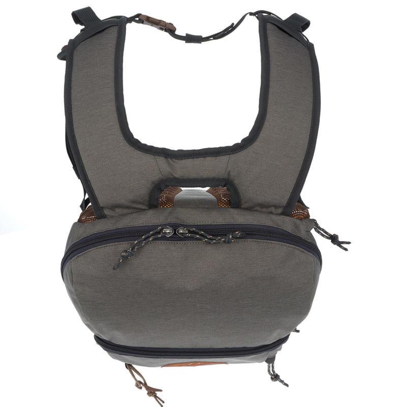 Hiking Bag 20 Litre (with Raincover) NH500 - Khaki Grey