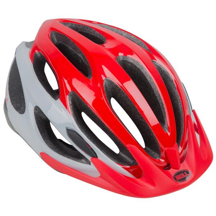 Fahrradhelm MTB Bell Paradox Erwachsene rot/weiß/schwarz