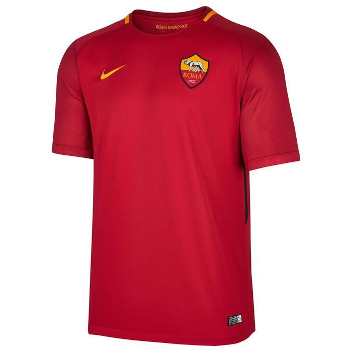 Voetbalshirt voor kinderen, replica AS Roma rood