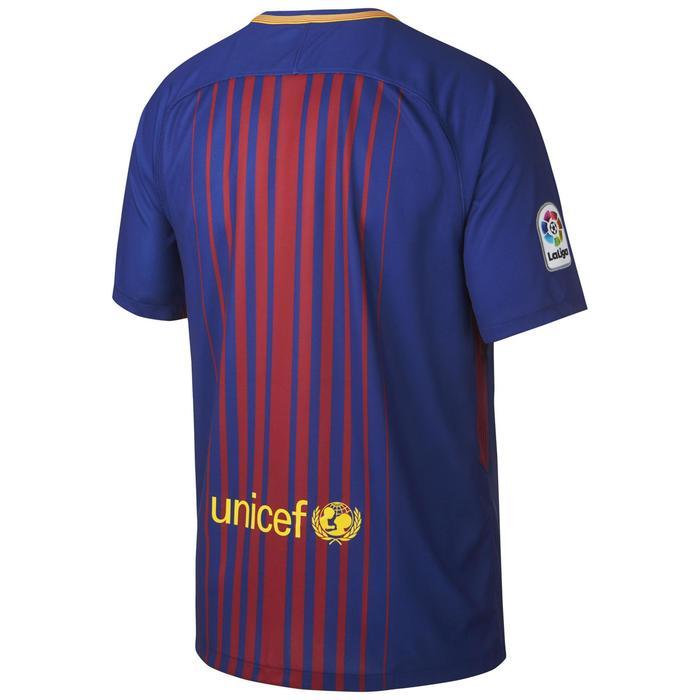 Maillot football adulte réplique Barcelone domicile bleu rouge