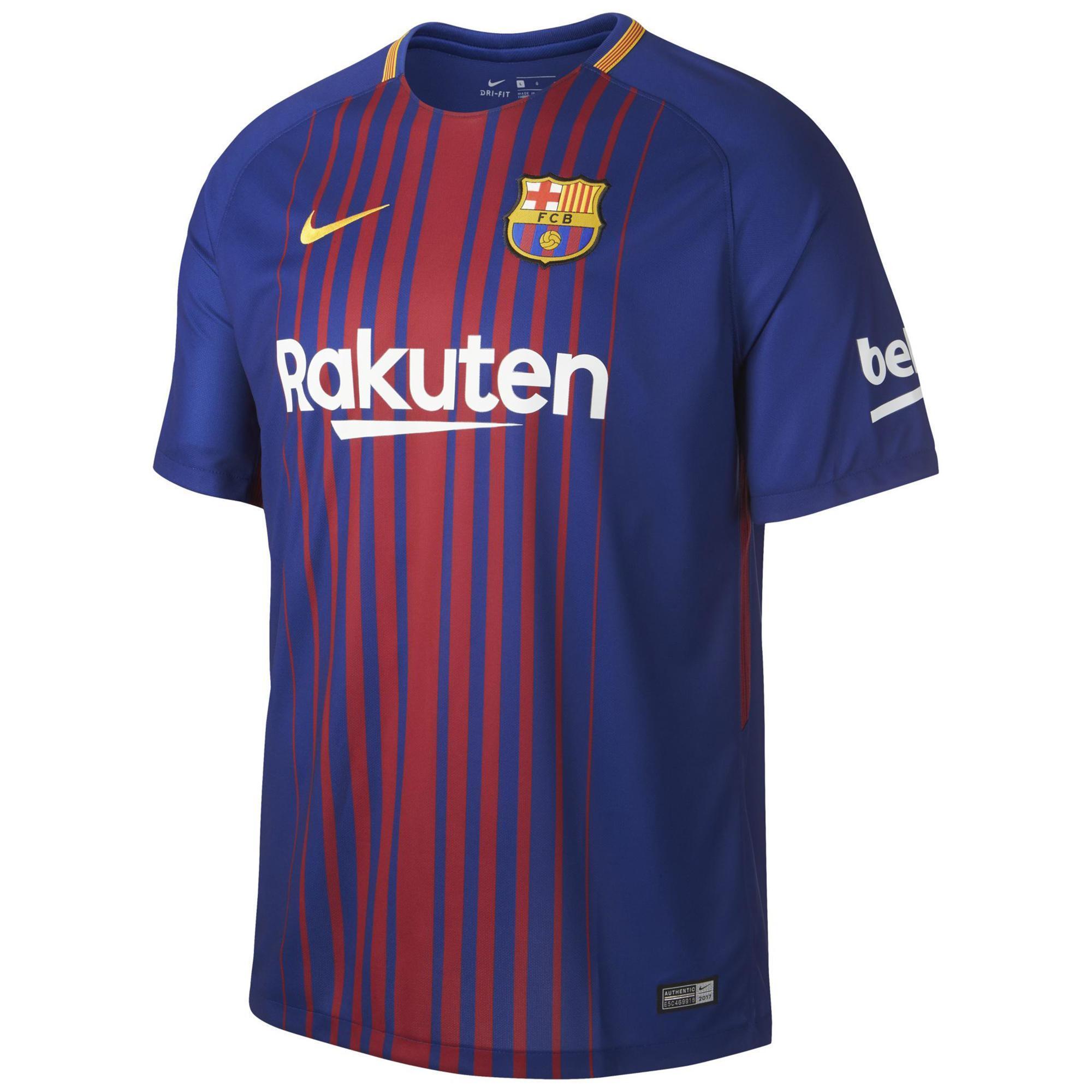 Equipación y Camiseta Oficial F.C. Barcelona 18 19  0faad505cd8