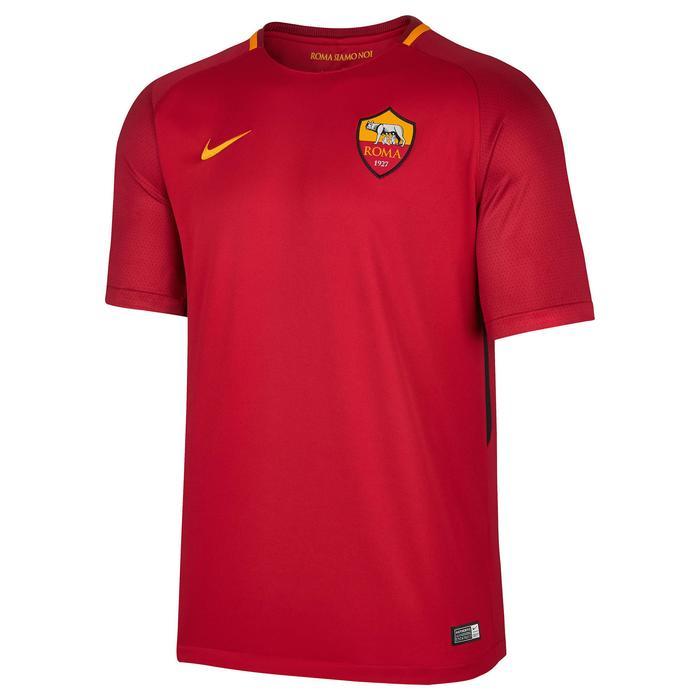 Voetbalshirt voor volwassenen, replica AS Roma rood