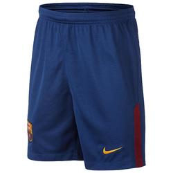 Short football enfant Barcelone  bleu rouge