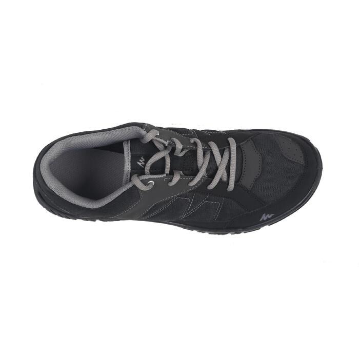 男款郊野健行靴NH100-黑色