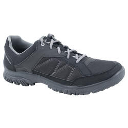 NATURE HIKING SHOES - NH100 - BLACK - MEN