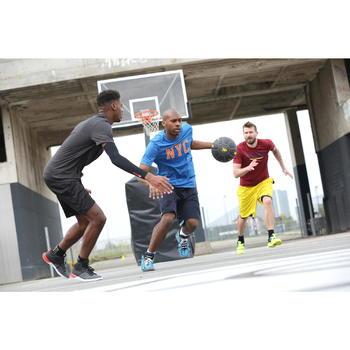 Ballon de basket adulte R500 taille 7. Increvable et ultra agrippant. - 1215781