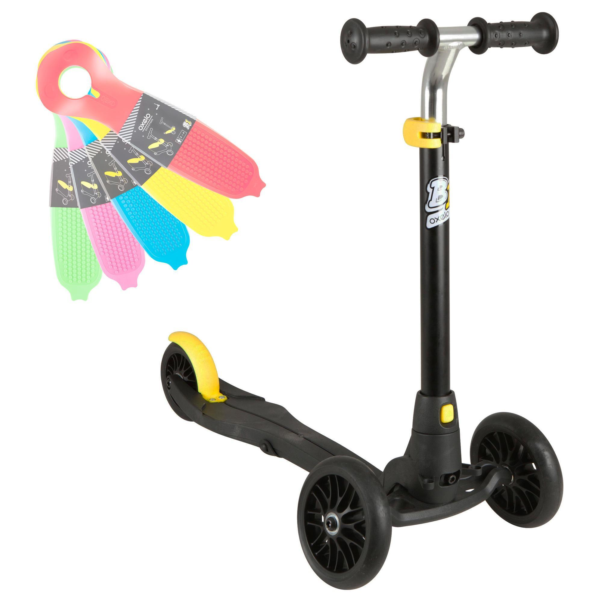 15f4dd9bf Patinete Scooter Oxelo B1 Niños Negro (Sin Base) Oxelo