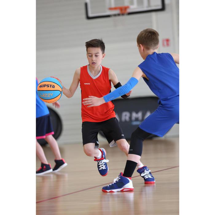 Coudière de protection basketball enfants joueurs confirmés bleu