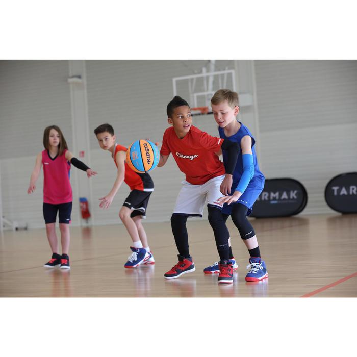 Rodillera De Protección Baloncesto Tarmak KP500 Niños Negro