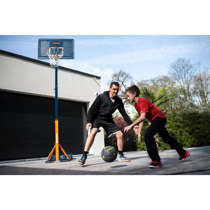 Panier de basket enfant/adulte B400 EASY noir rouge. 2,40m à 3,05m sans outils. - 1216218