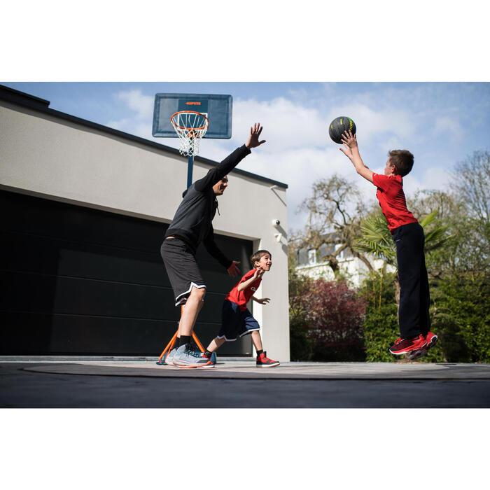 Panier de basket enfant/adulte B400 EASY noir rouge. 2,40m à 3,05m sans outils. - 1216221
