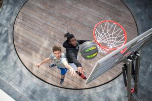 bien s'échauffer au basketball