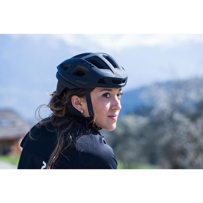 自行車競賽安全帽 - 黑色