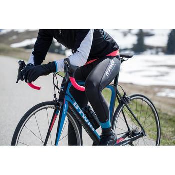 Lange fietsbroek 900 met bretels voor dames - 1216417