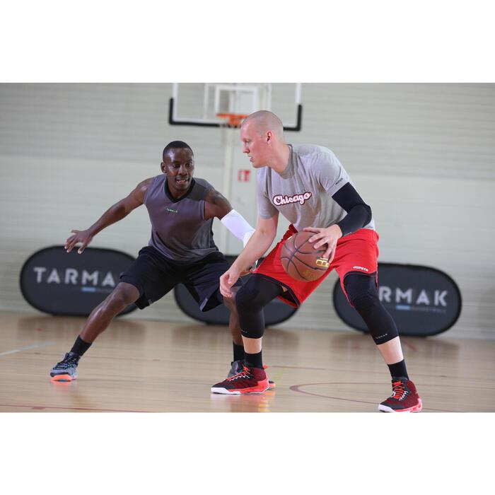 Basketballshorts SH100 Herren schwarz
