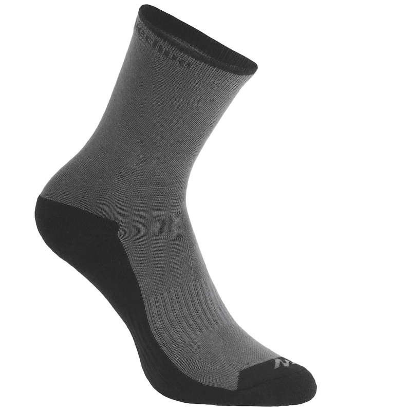 НОСКИ ДЛЯ ВЗРОСЛЫХ Большие размеры - Высокие носки Arpenaz 50 x1  QUECHUA - Большие размеры